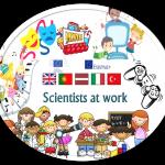 Logo scientists at work - Edifacoop