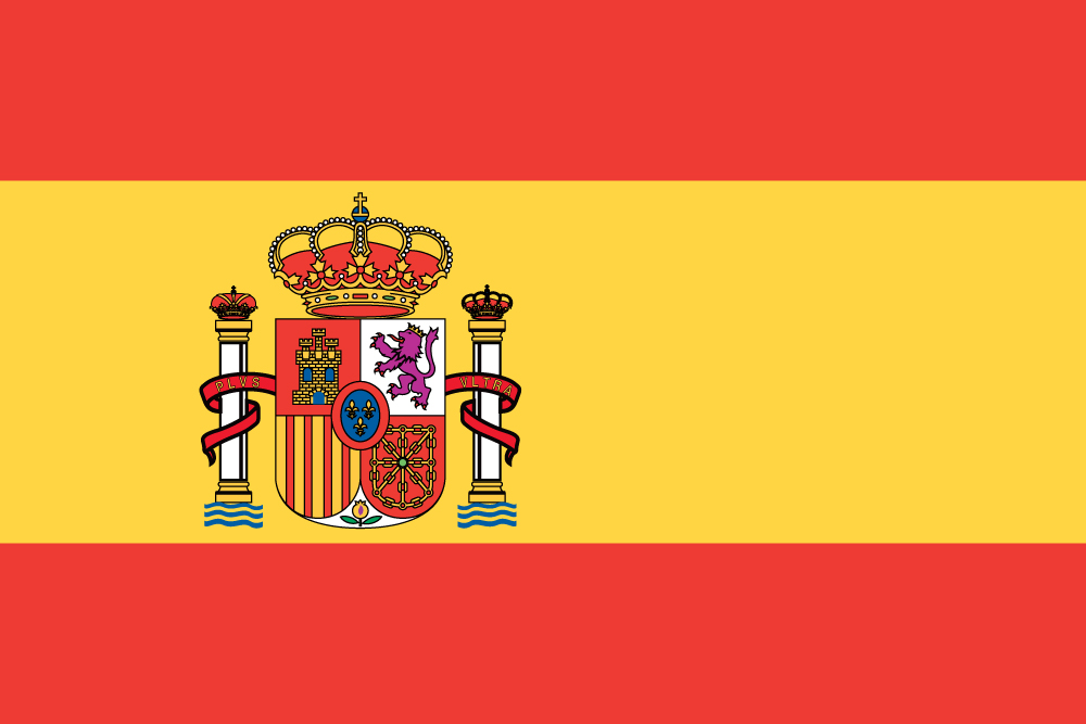 Bandeira de Espanha - Edifacoop