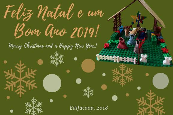 Celebração da Época Natalícia - Postal - Edifacoop