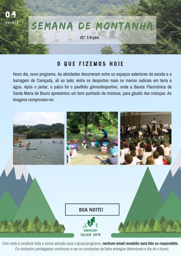 Edifacoop- Semana de Montanha 19 - Quinta