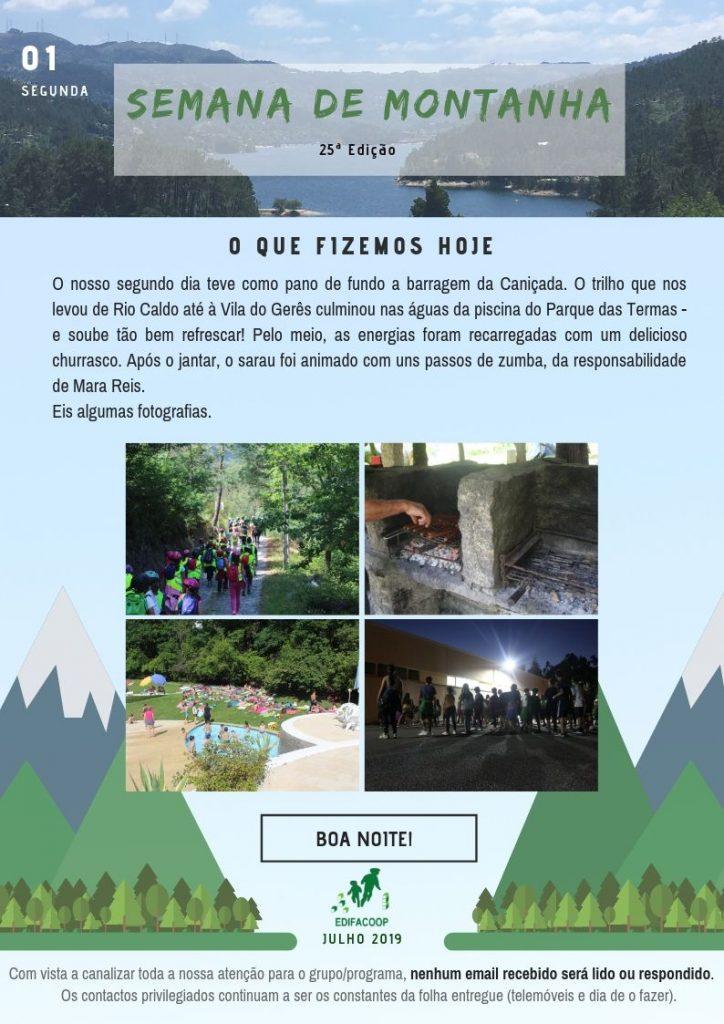 Edifacoop- Semana de Montanha 19 - Segunda