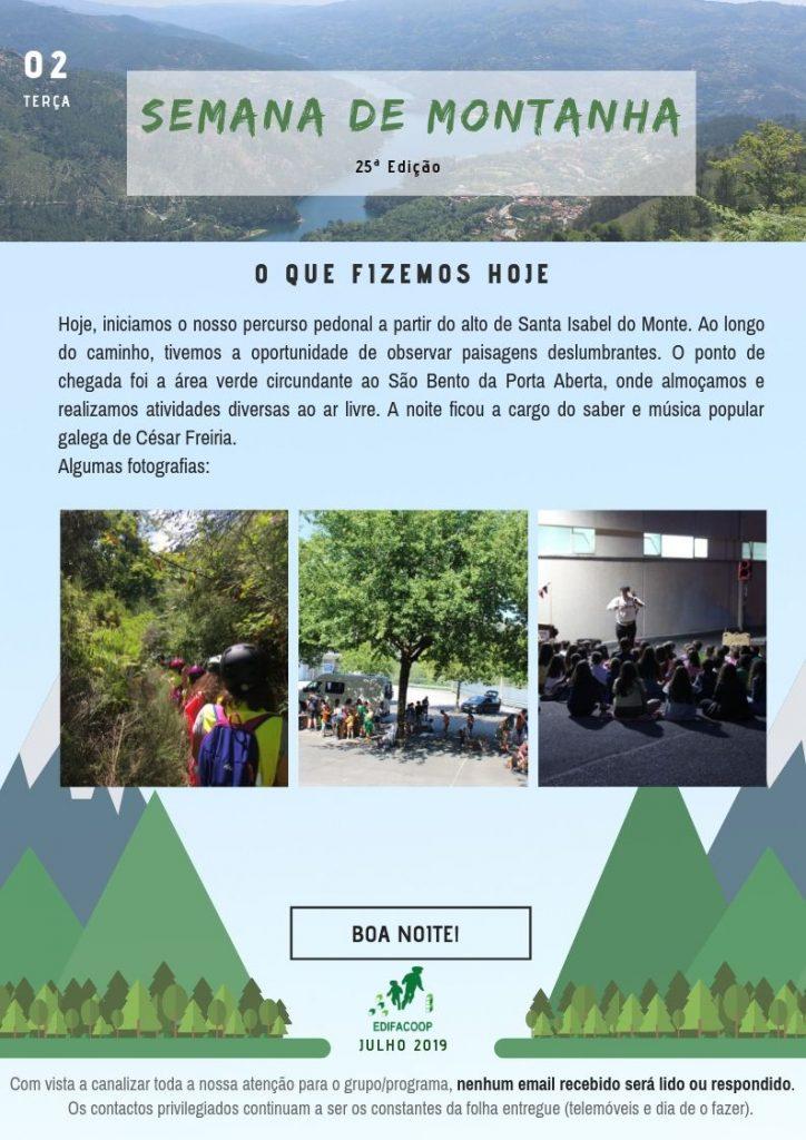 Edifacoop- Semana de Montanha 19 - Terça
