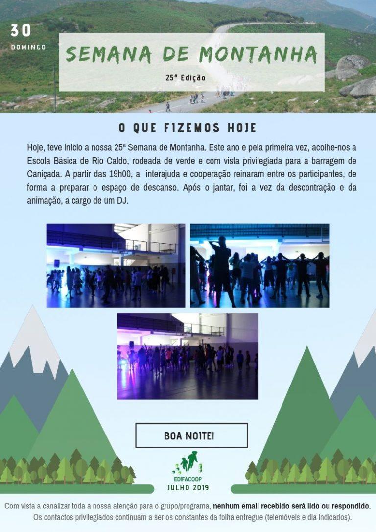 Edifacoop- Semana de Montanha 19 - Domingo
