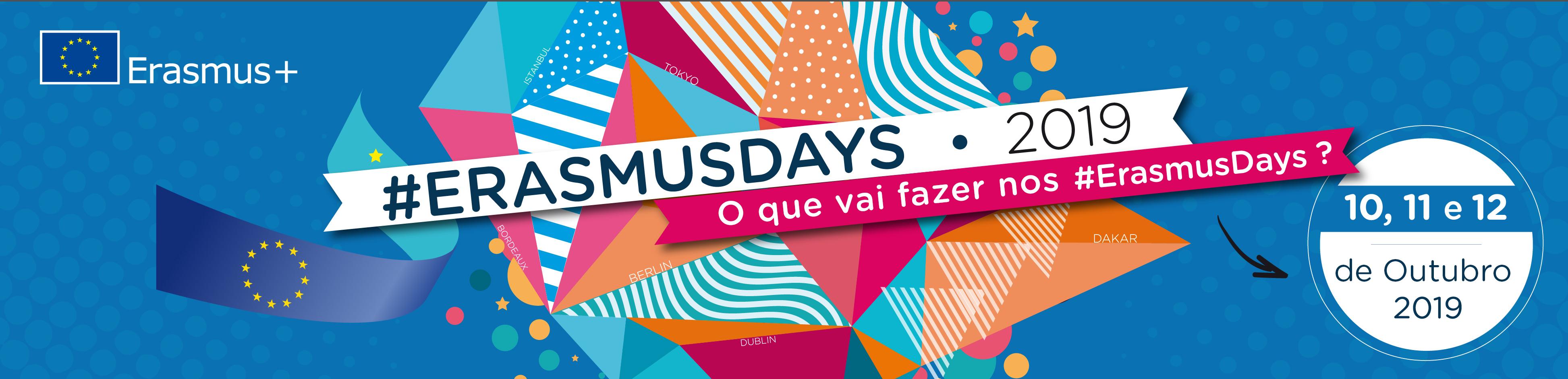 Edifacoop - ErasmusDays19 - (Re)Viver o Erasmus+