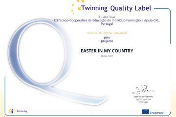 Quality Label eTwinning